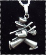 (J) Chimney sweep oxidized silver