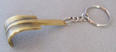 Key holder Raffel oxidized brass